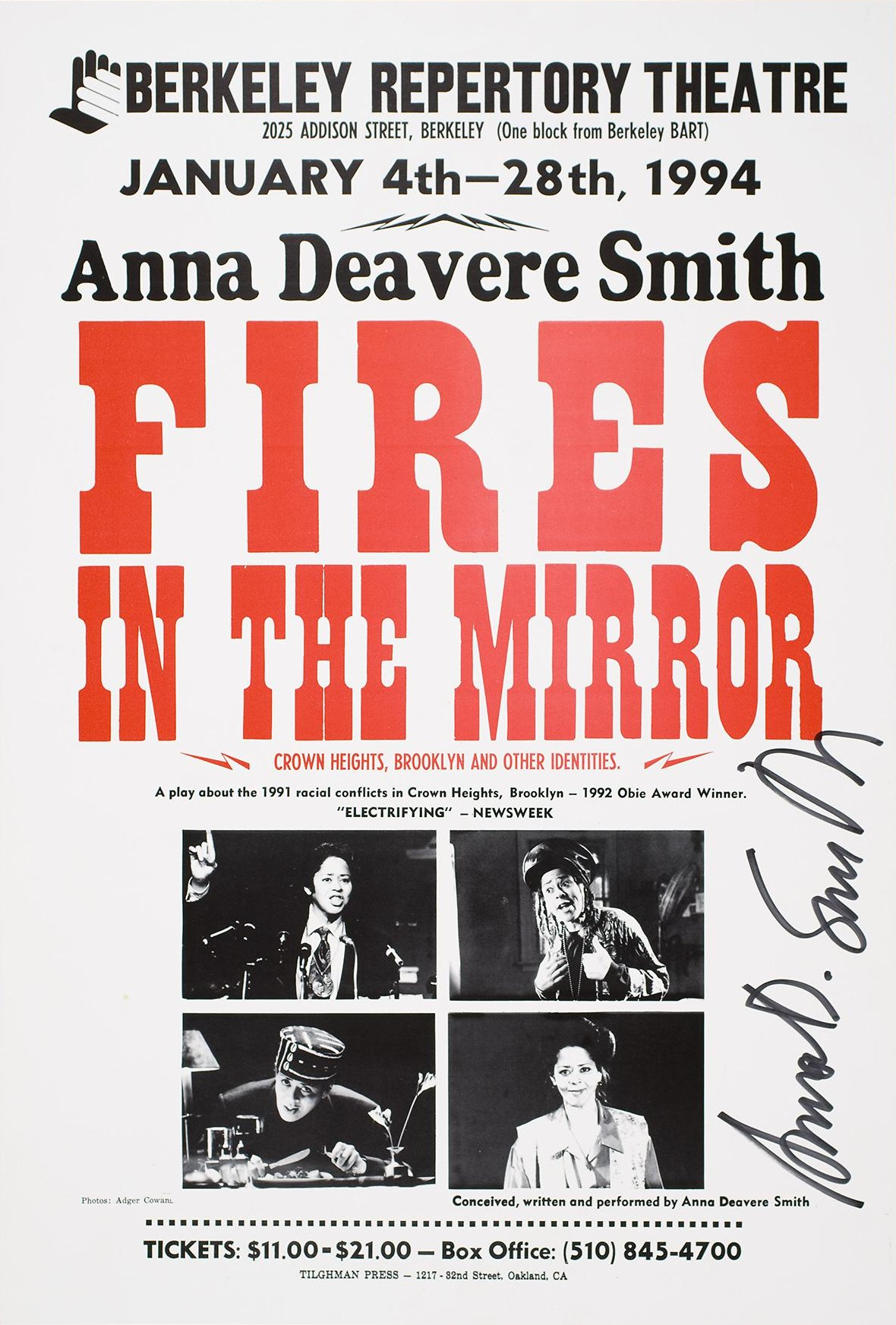 Fires in the Mirror Crown Heights Brooklyn and Other Identities