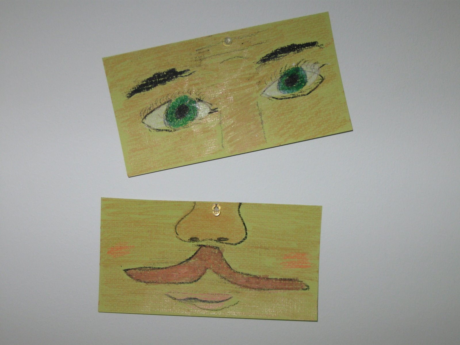 Portrait of a mustache by Paul Klinger in the Fall of 2008