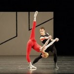 Dresden Semper Oper Ballet performed Forsythe 's STEPTEXT