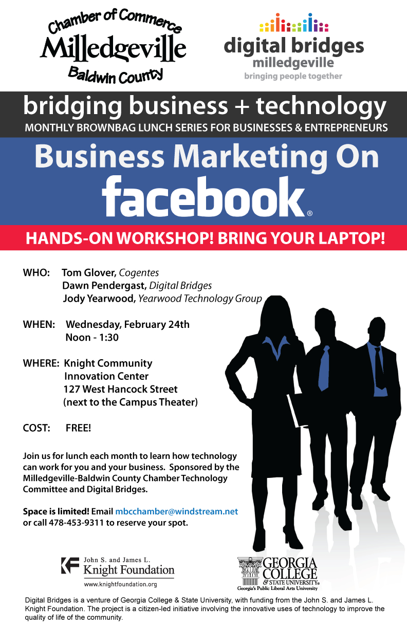 Business Marketing on Facebook (poster)