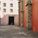 Little girl in doorway