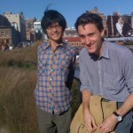 Jimmy + Jolly on the High Line