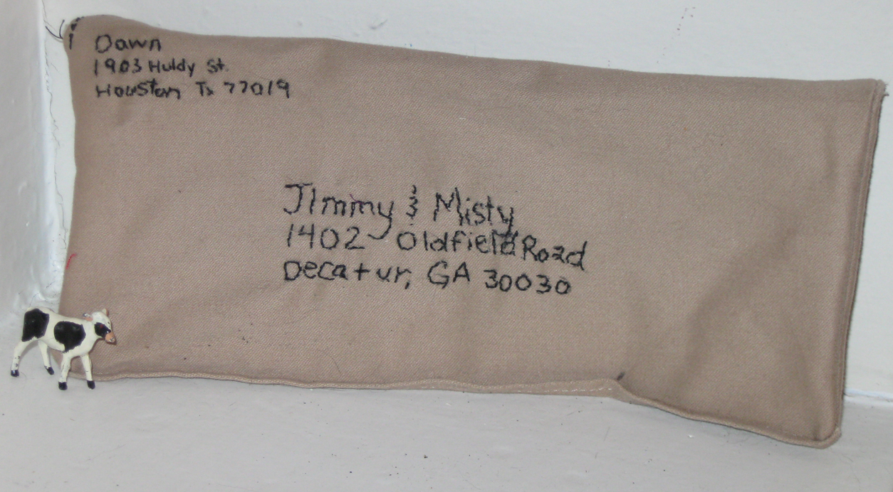 Sent Jimmy and Misty a little letter.