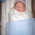 Gracie Raine in Hospital Stripes