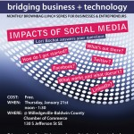 Bridging Business + Technology: Impacts of Social Media