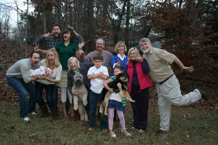 Family Funky Thanksgiving Picture 2010