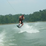 Frank Wakeboarding