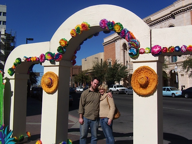Dawn Pendergast and Paul Klinger in Tucson