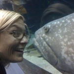 Dawn Pendergast at the Atlanta Aquarium