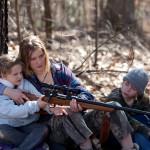 Winter's Bone - Gun lessons for the kiddies.