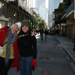 Helen and me in the French Quarter