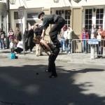 Not exactly cirque de soleil...