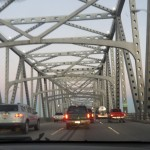 Beautiful Bridge on the Way to New Orleans