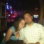 Lauren and Eric (looking scarry)