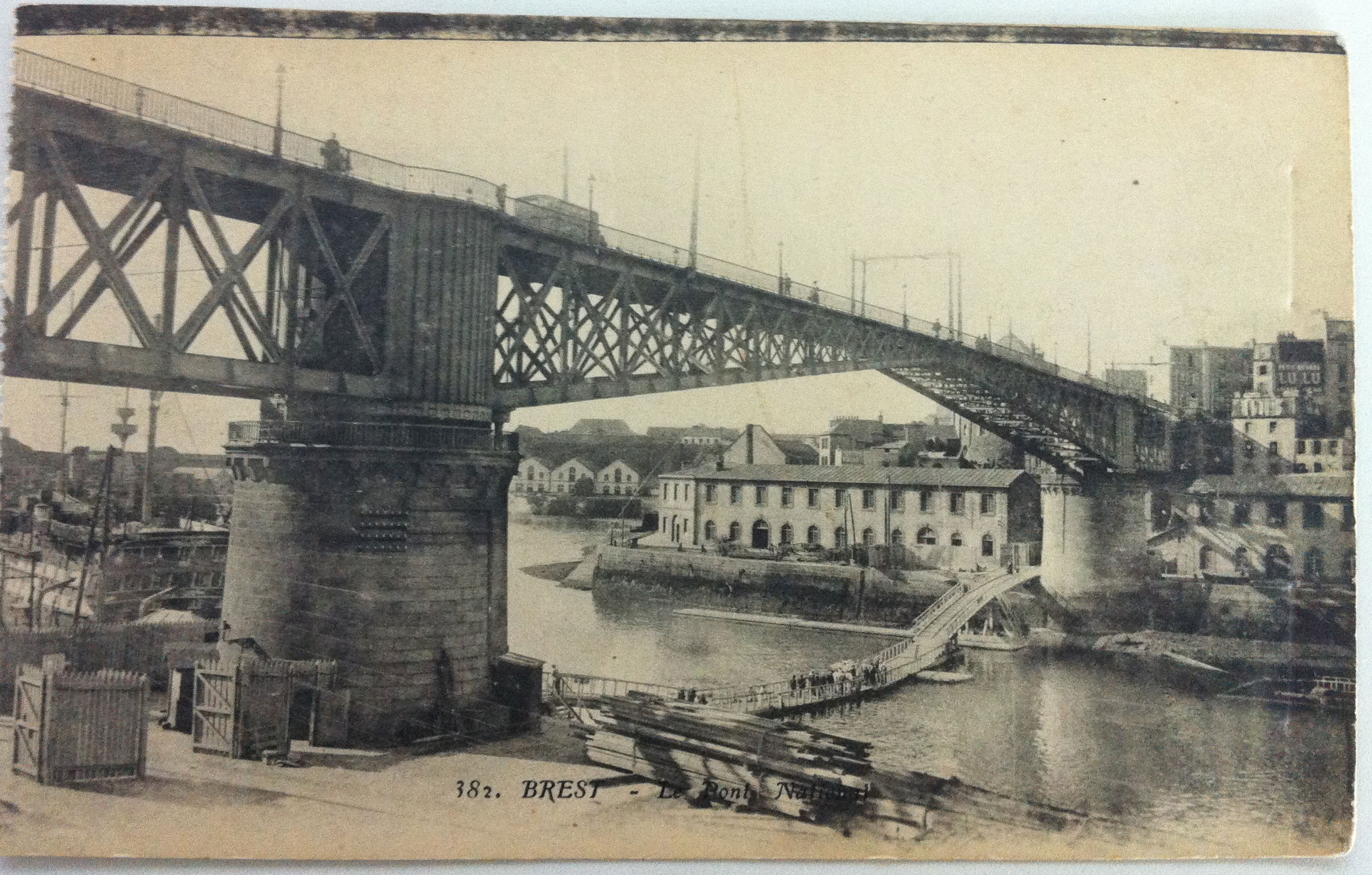 August 12th Post­card – Brest Bridge