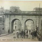 August 17th Postcard - The Arches of La Porte de Foy