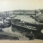 August 19th Postcard - L'avant-Port de Guerre