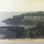 August 21st Postcard - La Rade et l'entree du Port