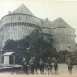 August 22nd Postcard - Les Tours de l'entree du Chateau