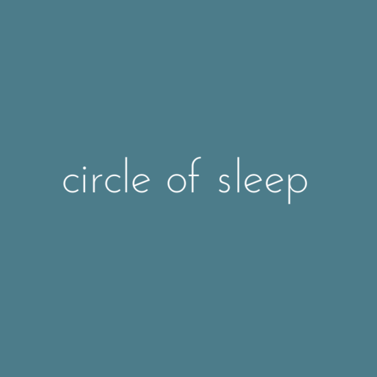 circle of sleep