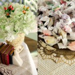 Decor: Flowers and taffy