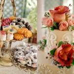 Decor: Bride's Cake and Treats