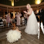 Reception: Dawn, Grace, Sherry & Julia on the Dance Floor
